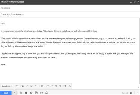 Cold Email Template 10 Popular Cold Email Exles Used Today The Best Cold Email Template