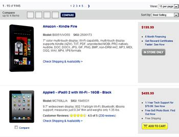 Does Target Sell Amazon Gift Cards - kindle fire quot best selling quot tablet at best buy target techspot