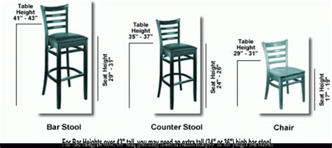 bar stool height chart toddler bed size chart home design ideas