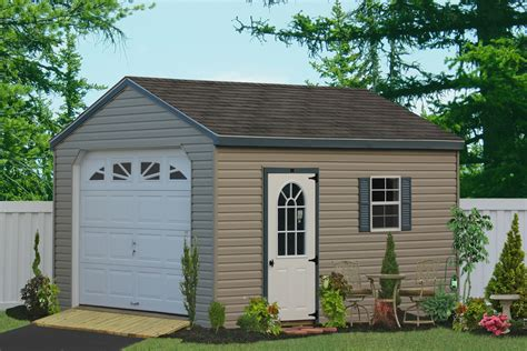 Single Detached Garage by Custom Detached Garage For One Car And Motorcycle For Sale