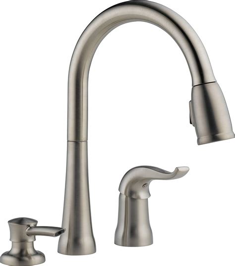 pull spray kitchen faucet pull kitchen faucet with magnetic sprayer dock best kitchen faucets