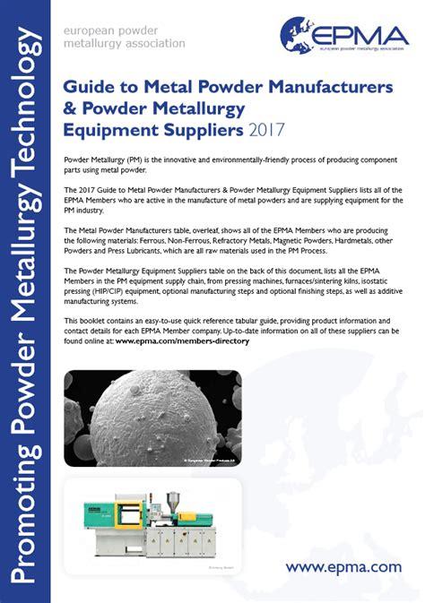 Epma Free Publications European Powder Metallurgy | epma free publications european powder metallurgy