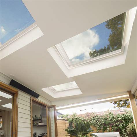 flat roof skylight velux flat roof skylights skylights