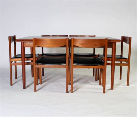modern expandable dining table and chairs for sale