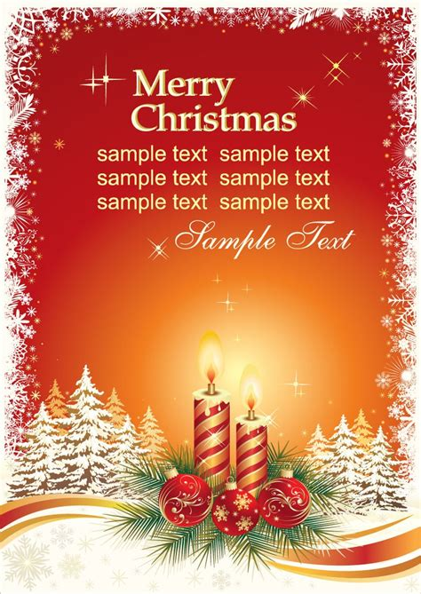 christmas card vector template  vector graphics   web resources  designer