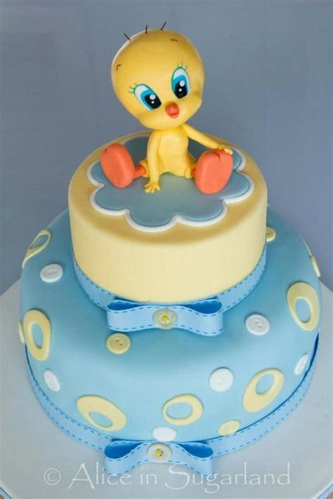 Tweety Bird Baby Shower tweety cake baby shower cakes and birds