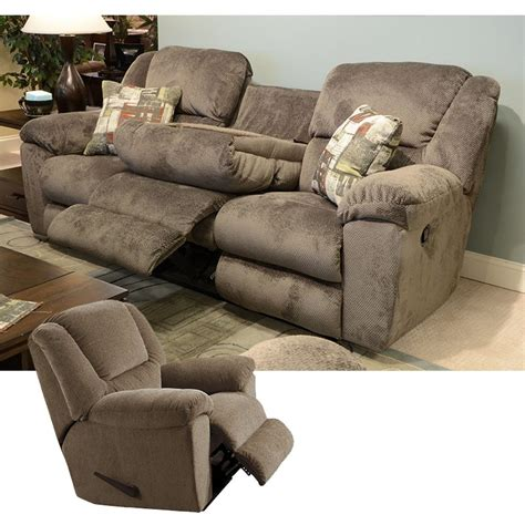 rent to own catnapper transformer sofa recliner set