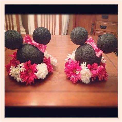 minnie mouse centerpieces diy centerpieces