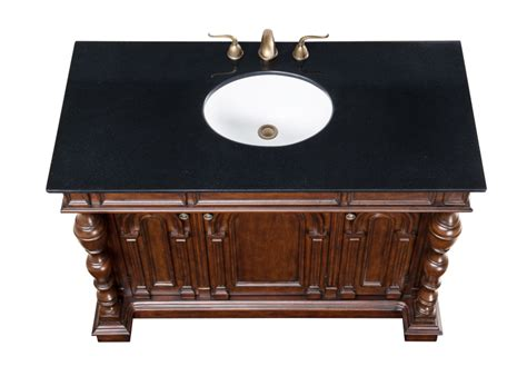48 inch black bathroom vanity acco 48 inch antique bathroom vanity black marble countertop