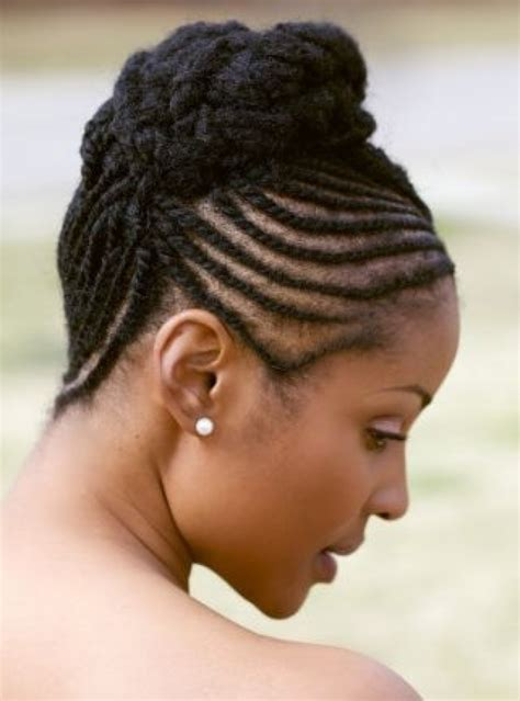 big cornrows updo styles cornrows flat twists updos throughout cornrow and twist