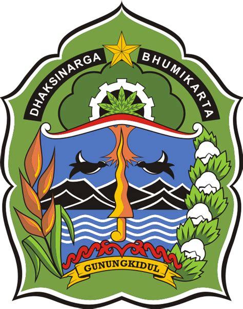desain gapura batas kabupaten gunung kidul logo kabupaten gunungkidul kumpulan logo lambang indonesia