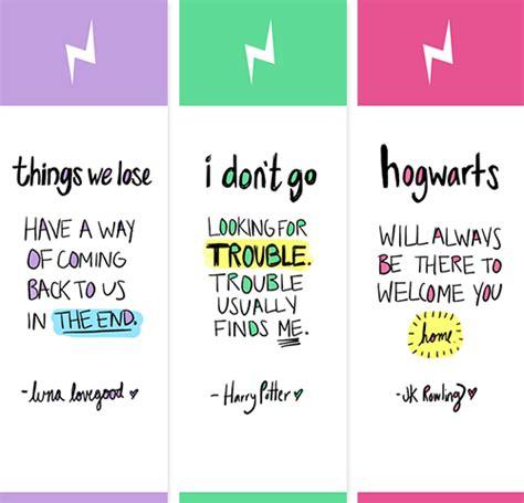 printable bookmarks tumblr dromedas harry potter bookmarks download just