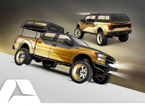 Ford Previews Four Concept Trucks Ahead Of Sema Picture