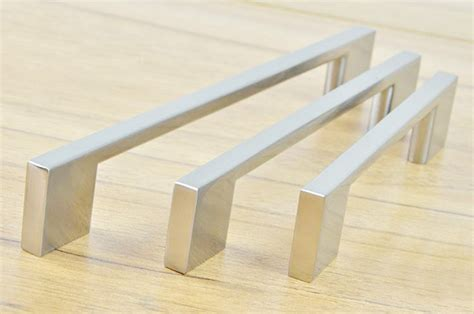 kitchen cabinets handles stainless steel aliexpress com buy stainless steel brush finish kitchen