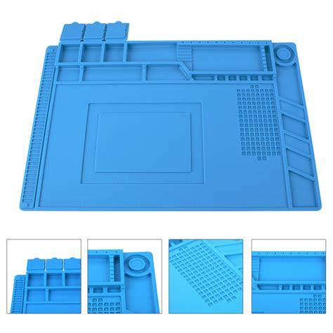 Soldering Repair Platform Heat Insulation Silicone Station Pad Mat Up heat insulation silicone pad desk mat maintenance platform