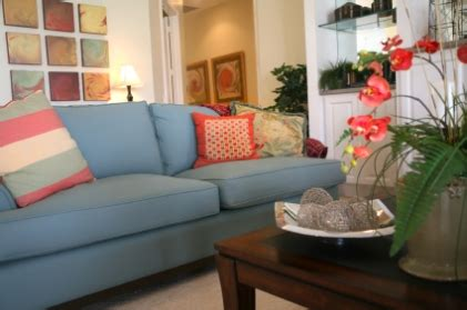 decorating with a blue couch decor swaginteriors
