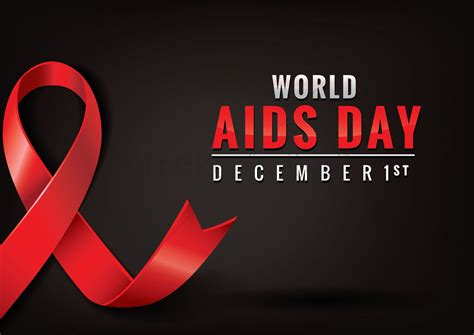 design poster aids world aids day poster design vector image 1959242