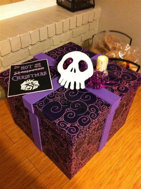 woodcraft nightmare before christmas themed gifts