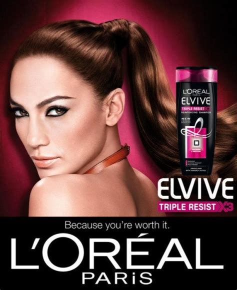 loreal hair commercial is it a kardashian l oreal paris elvive triple resist shoo and conditioner