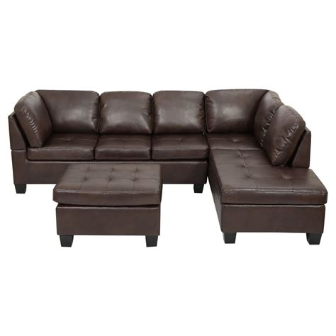 slumberville recliners leather sectional sofa furniture