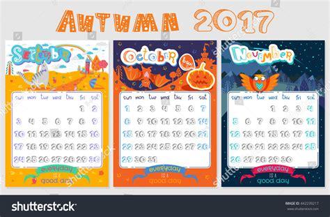 doodle calendar sign in doodle calendar design 2017 year vector stock vector