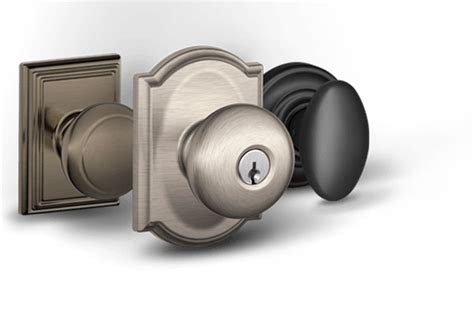 Schlage Interior Door Hardware Door Knobs Interior Exterior Door Knobs Schlage