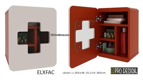 Lemari Obat lemari kotak obat elxfac pro design diskon promo