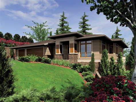 contemporary prairie style house plans prairie style house plan 4 beds 4 baths 3682 sq ft plan