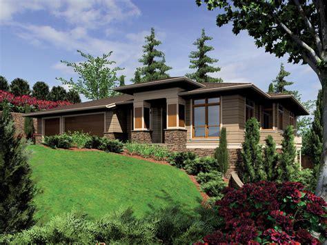 Prairie Style House Plan   4 Beds 4 Baths 3682 Sq/Ft Plan #48 605