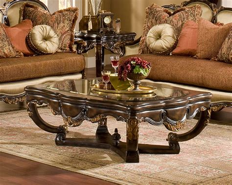 benetti s coffee table in traditional style abrianna btab010