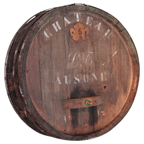 the barrel room vintage wine large antiqueu wine barrel frontage from france