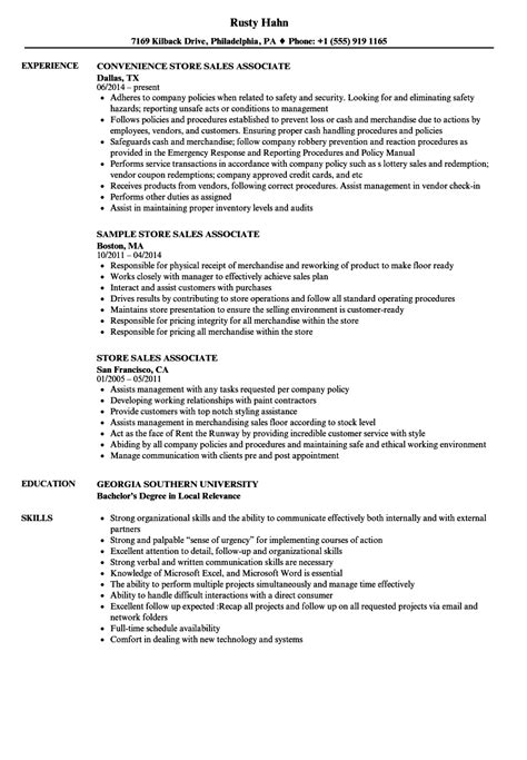 example resume for retail resume retail manager retail sales