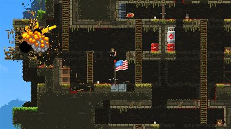 broforce gets full game release in march freedom simulator 2014 broforce gets sale and new bros