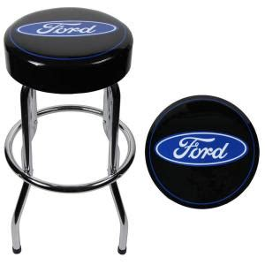 Ford Stool With Back by Ford Garage Stool 004751r01 The Home Depot
