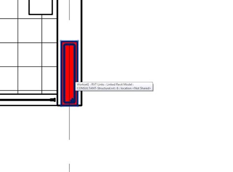 revit wall pattern not showing what revit wants showing structural column cut pattern