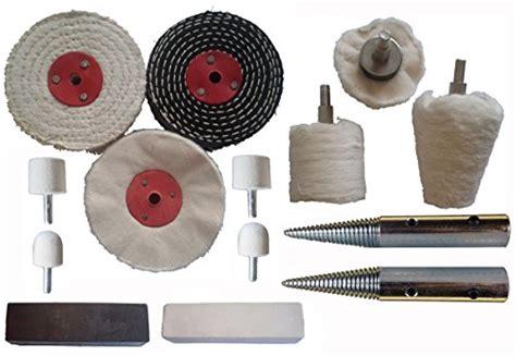 metal polishing wheel for bench grinder 14pc stainless steel polishing buffing kit use on bench