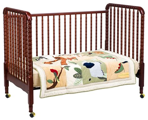 Lind Drop Side Crib by Davinci Lind 3 In 1 Convertible Crib In Cherry M7391c
