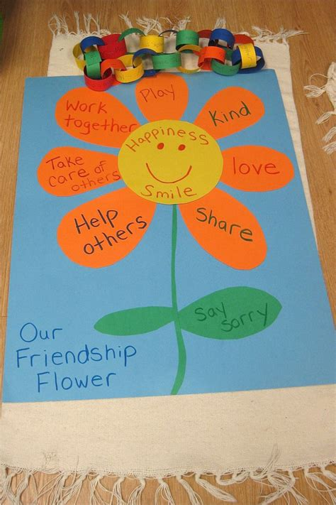 friendship craft for 25 best ideas about preschool friendship activities on