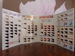 chi hair color chart farouk chi ionic permanent shine hair color chart