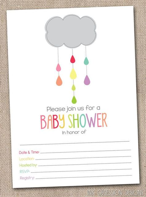 Fill In Baby Shower Invitations by 17 Best Images About Ink Obsession Printables On