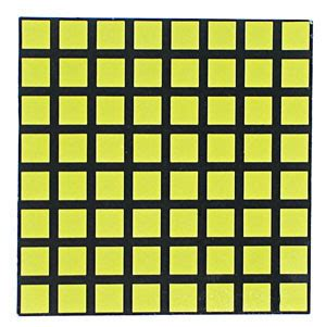 white square  ca led matrix display technical data