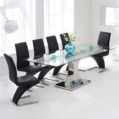 Harvey Norman Dining Table Prices Ambrose Glass Extending Dining Table With Harvey Black Airs And Rrp Harvey Norman Price Set