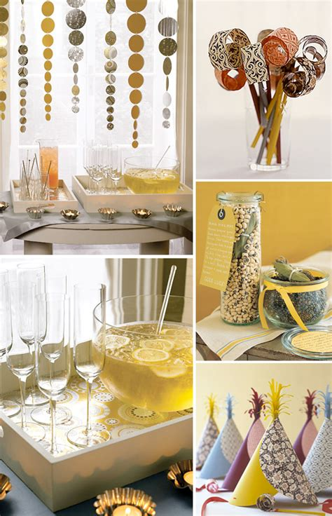 Handmade New Year Decorations - 5 diy handmade new years printables
