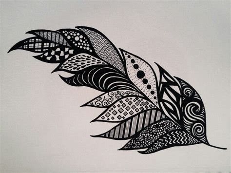 Drawing Zentangle by Feather Zentangle Sf My Marker And Doodles