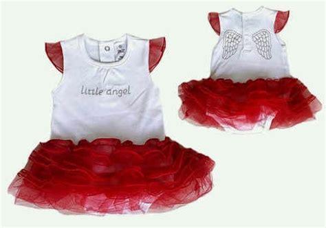 dress anak white dress bayi tutu merah