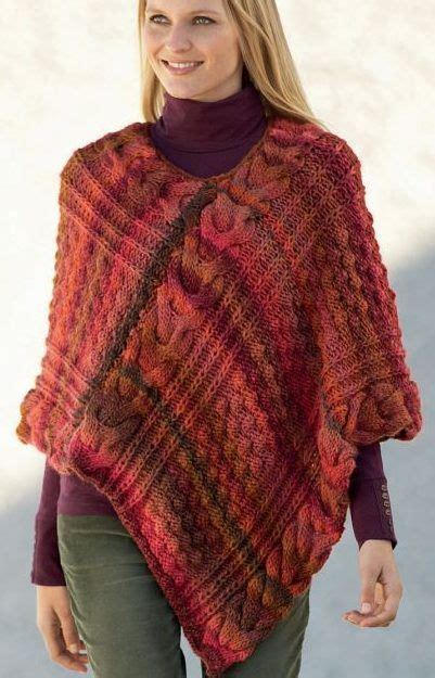 knitted poncho for best 25 poncho knitting patterns ideas on