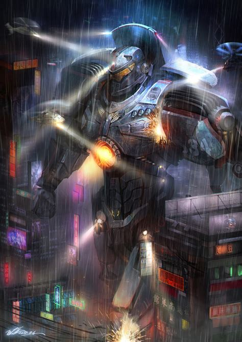 pacific rim gipsy danger s by junling on deviantart