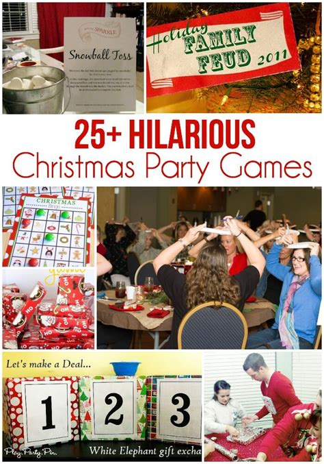 party themes hilarious 25 fun christmas party games