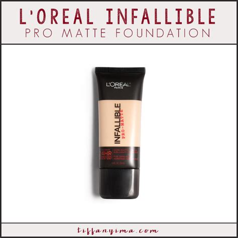 L Oreal Infallible Pro Matte Foundation clinique stay matte vs l oreal infallible pro matte ima