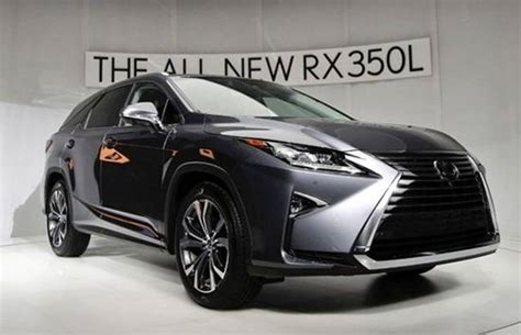 Lexus Models For 2019 by 2019 Lexus Rx 350 Refreshed Lexus Models